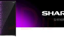 Harga dan Spesifikasi Kulkas 1 Pintu Sharp SJ-X165MG GR 133 L