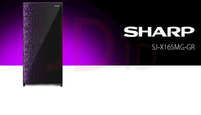kekurangan kelebihan harga dan spesifikasi kulkas sharp sj-x165mg gr 1 pintu