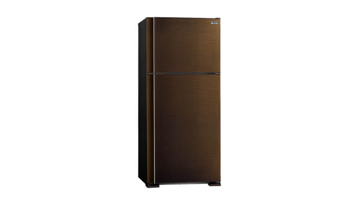 kekurangan kelebihan harga dan spesifikasi kulkas mitsubishi mr-f62e-sl-n 2 pintu