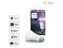 Harga dan Spesifikasi Lampu Philips HUE 10W A60 E27 Single Bulb