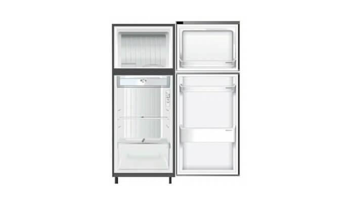 kekurangan kelebihan harga dan spesifikasi kulkas panasonic nr-bn20an ss 2 pintu